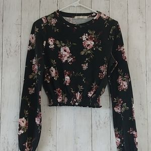 Living Doll Floral Blouse